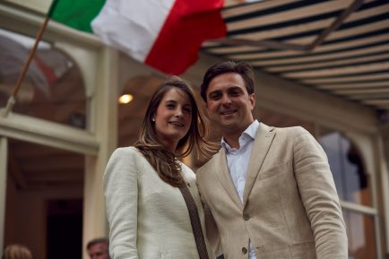 1. Fleur Festetics de Tolna en Nicola Flagiello (eigenaren Clothingman) - Foto Stefan Marcel Gerard