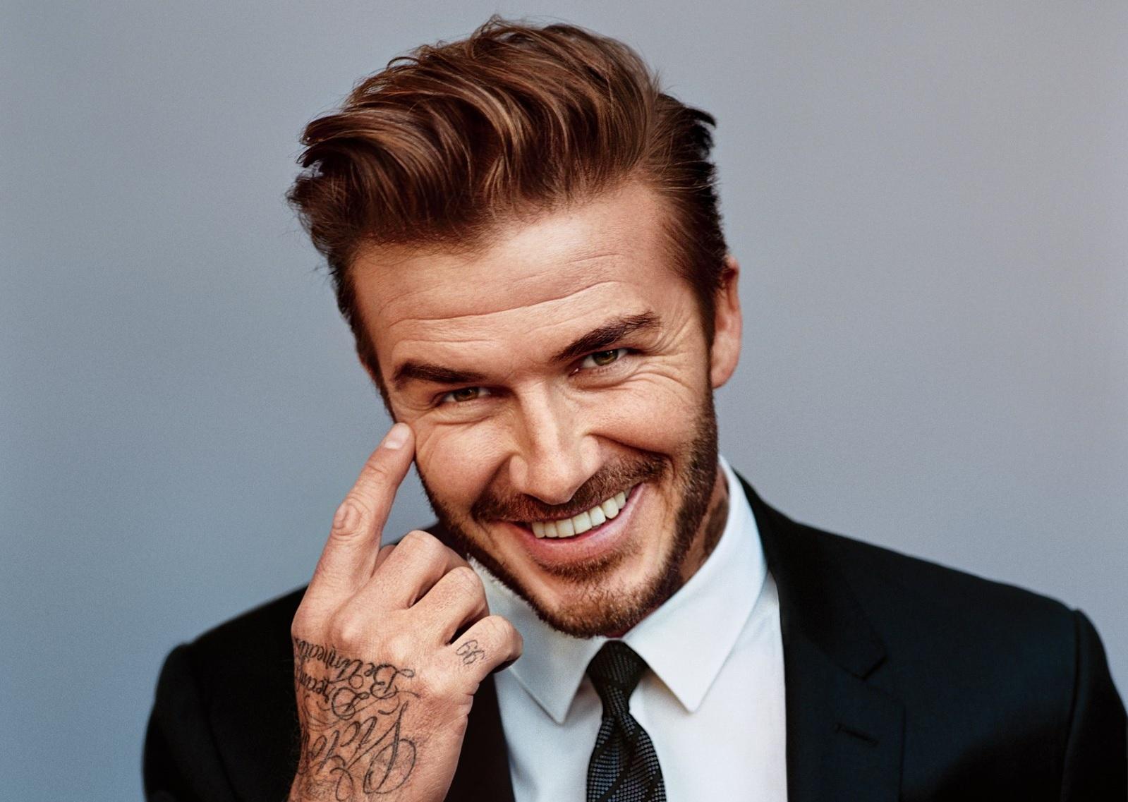 David Beckham ontwikkelt verzorgingsproducten voor mannen