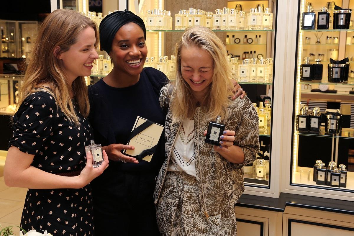 Opening Jo Malone Boutique Rotterdam_Carolien, Sanne & Yootha_photo credits Joris van Lieverloo fotografie