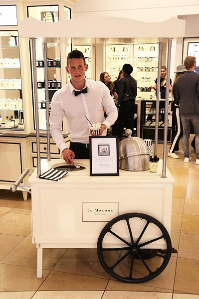 Opening Jo Malone London Boutique Rotterdam_ice cream 1