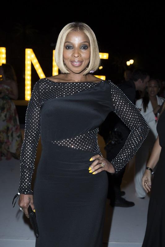Marie J.Blige.