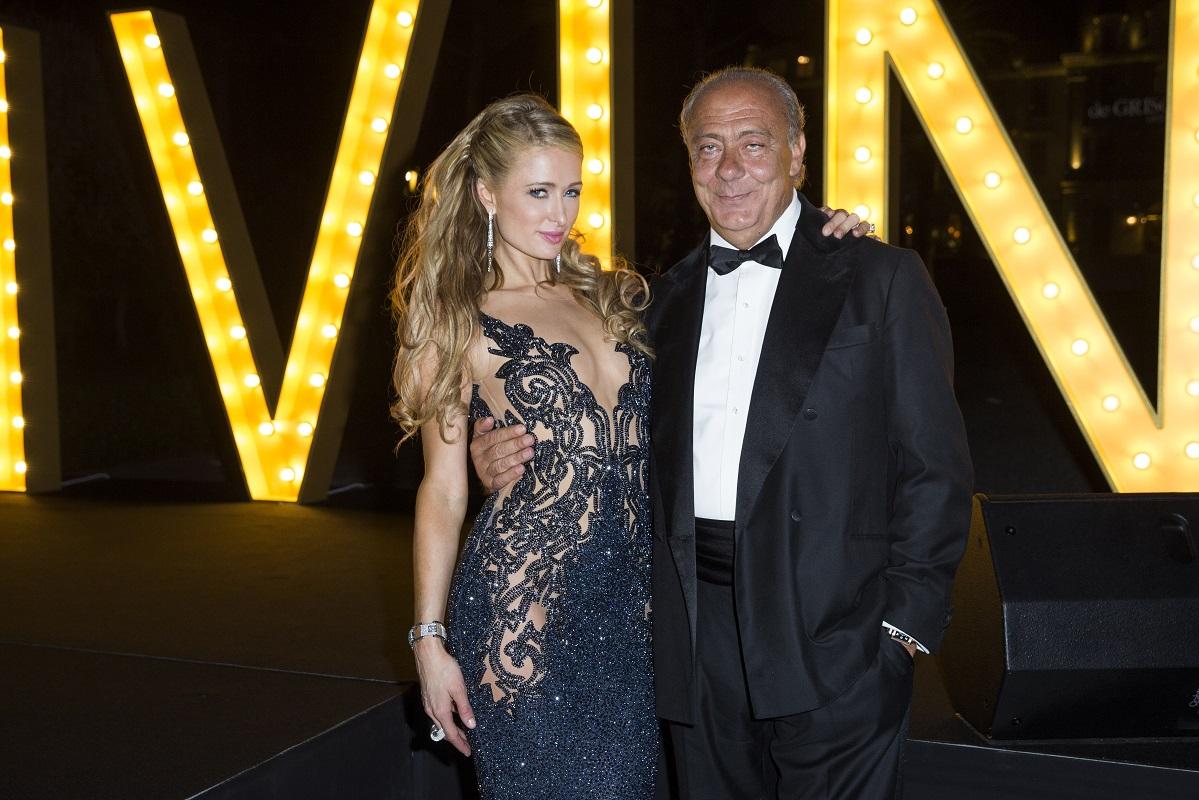 Paris Hilton et Fawaz Gruosi.