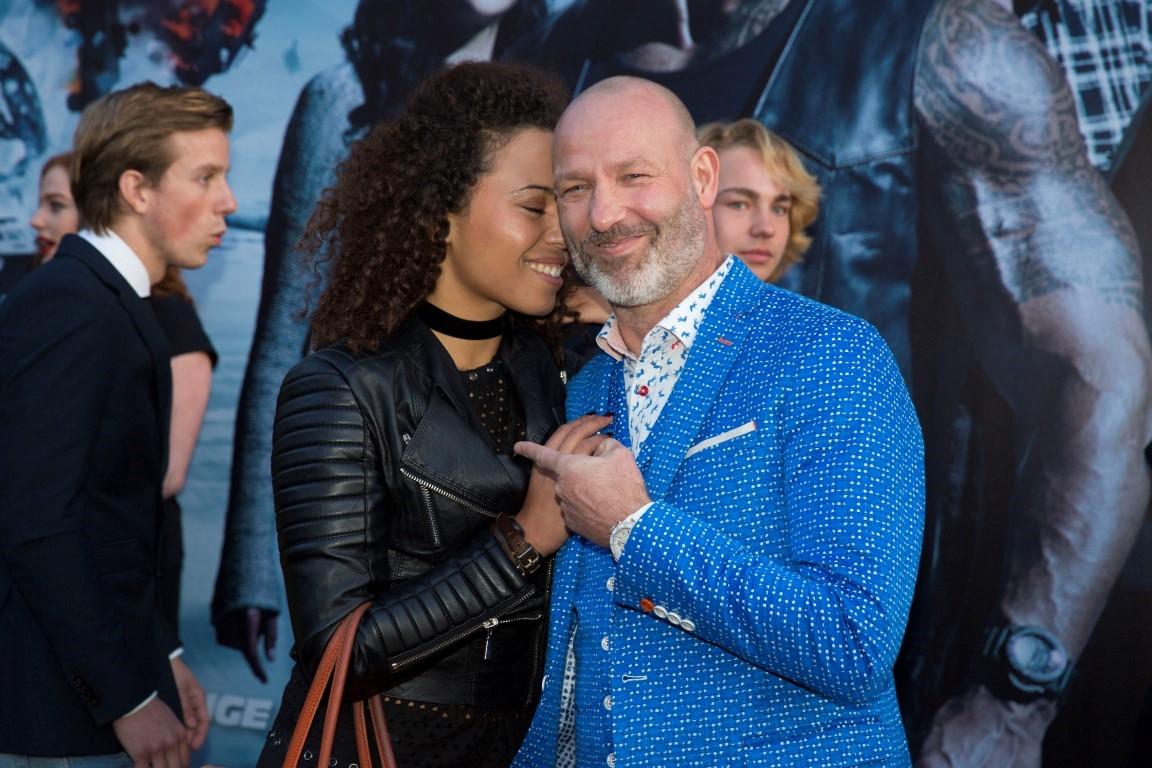 Glamourland - Eddy Zoëy met partner Sarah Juray