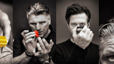 Om op te eten! Jonnie Boer en Sergio Herman maken chocolade Land Rovers