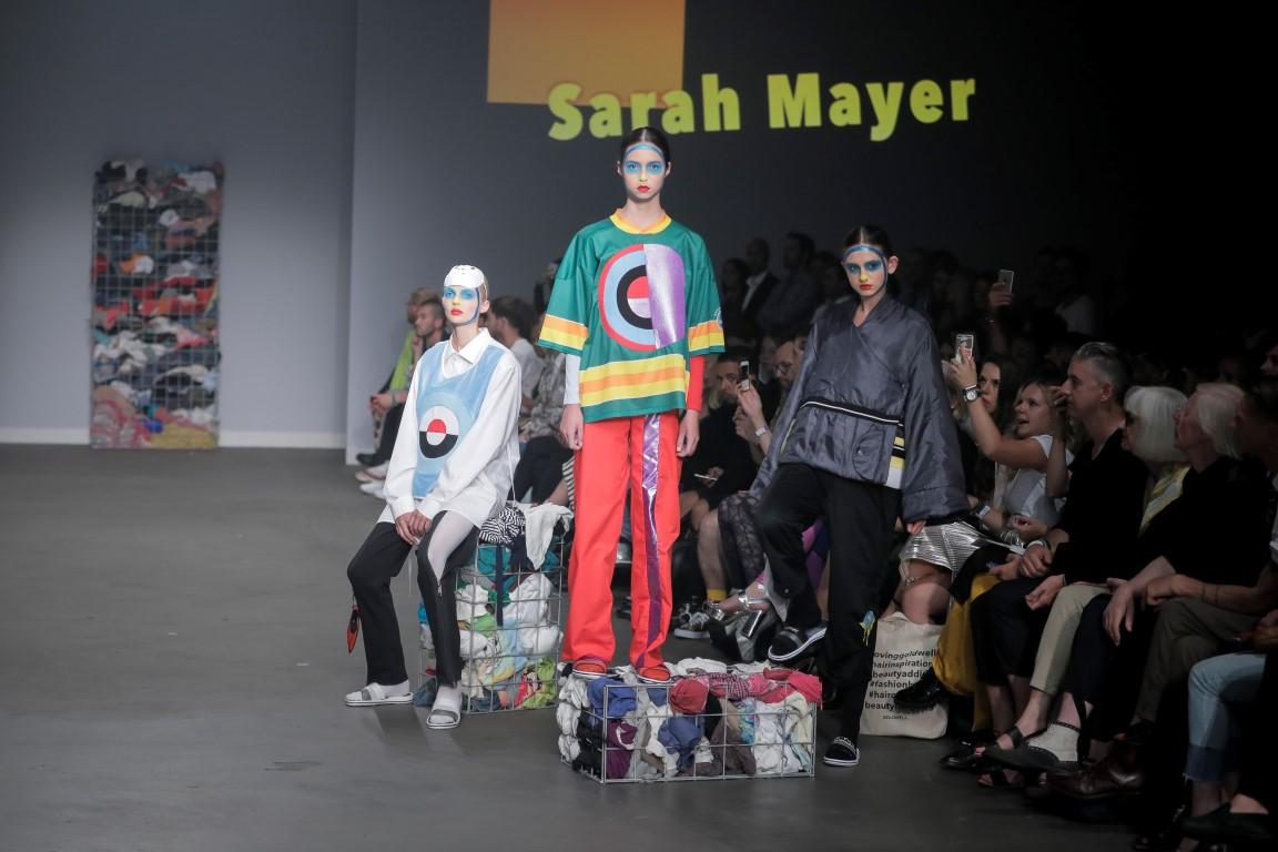 Sarah Mayer CATWALK AMSTERDAM FASHIONWEEK