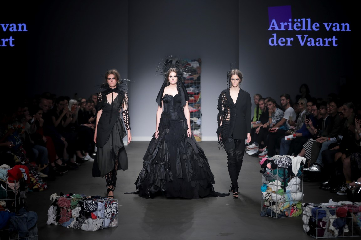 Arielle van der Vaart CATWALK AMSTERDAM FASHIONWEEK