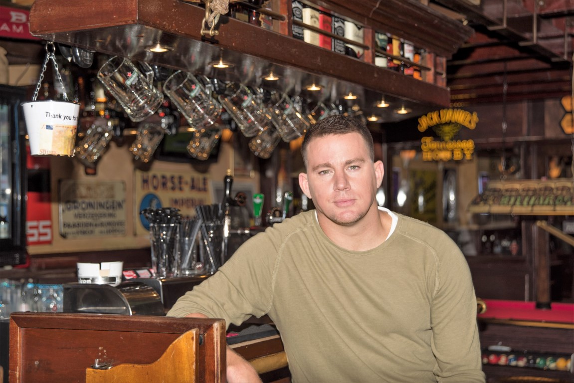 Hot, hot, hot! Channing Tatum in Amsterdam
