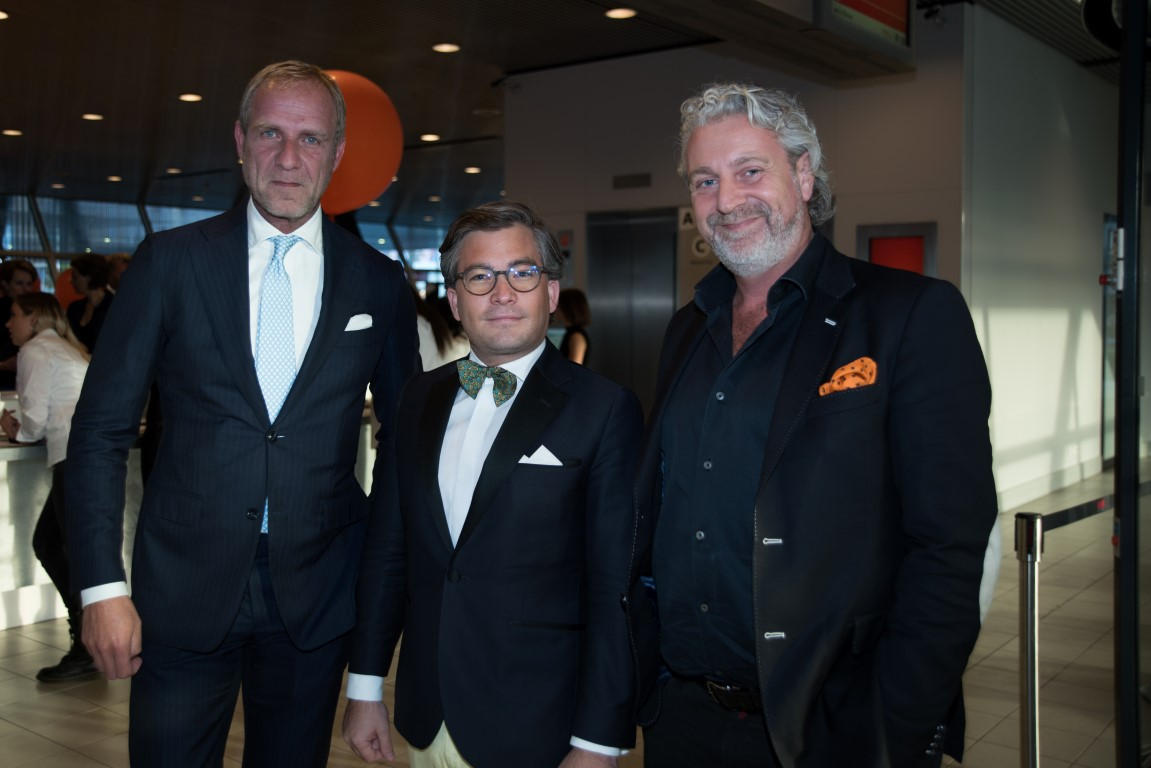 Orange Babies Gala - Erik van der Burg, Francois-Léon Van der Velden, Mark Teurlings - Glamourland - Martin van Os (2)