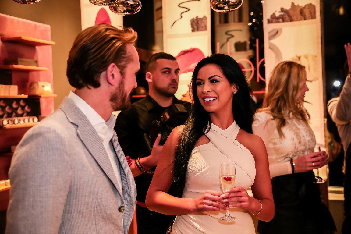 Grand Opening Delilah Cosmetics Amsterdam - Dounia Rijkschroeff