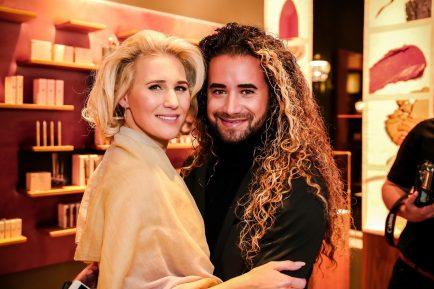 Grand Opening Delilah Cosmetics Amsterdam - Frauke Hamer en Lucien Beijerinck