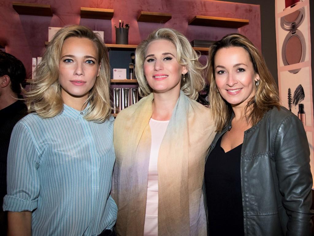 Grand Opening Delilah Cosmetics Amsterdam – Jennifer Hoffman, Frauke Hamer, Cynthia Abma – Martin van Os