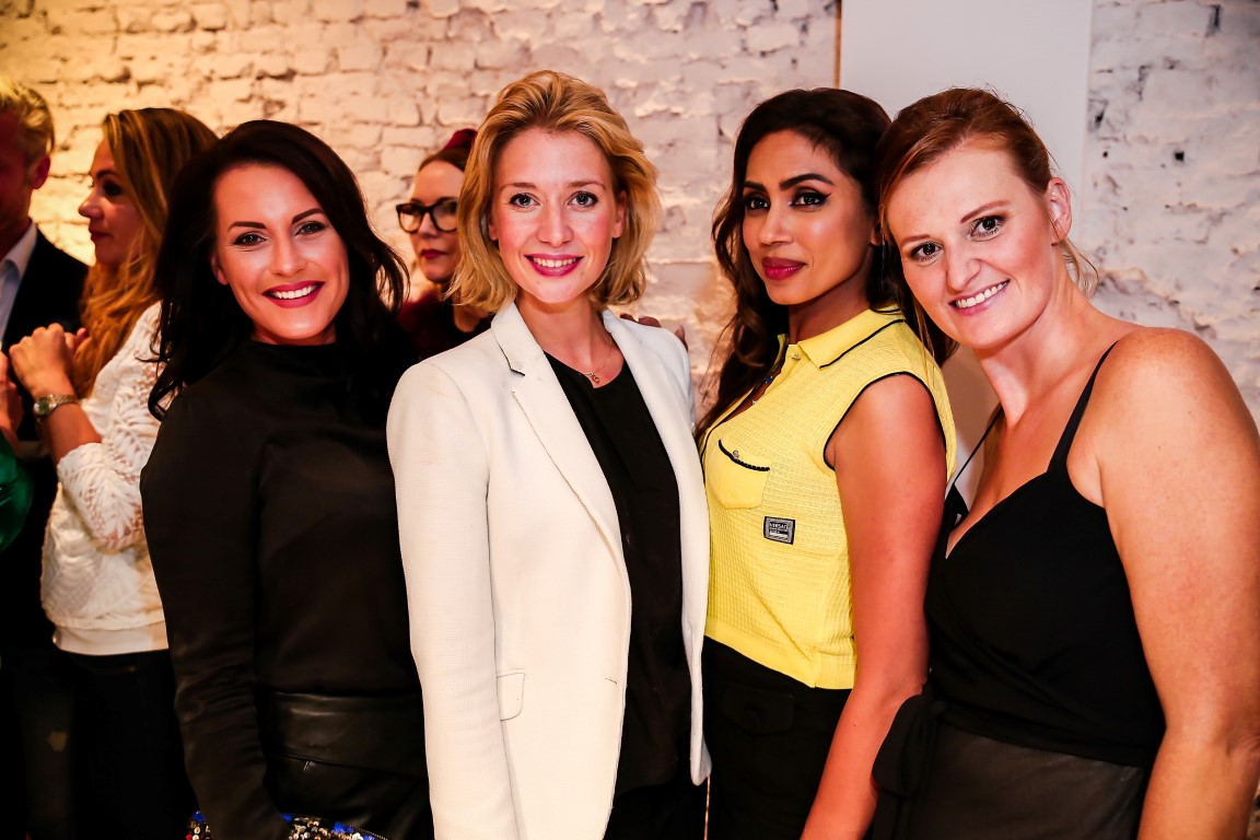 Grand Opening Delilah Cosmetics Amsterdam - Melanie Out, Tessa Deurloo, Fezila William, Katia Maes