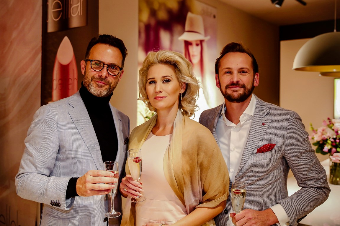 Grand Opening Delilah Cosmetics Amsterdam - Rupert Kingston, Frauke Hamer, Dinand Stufkens