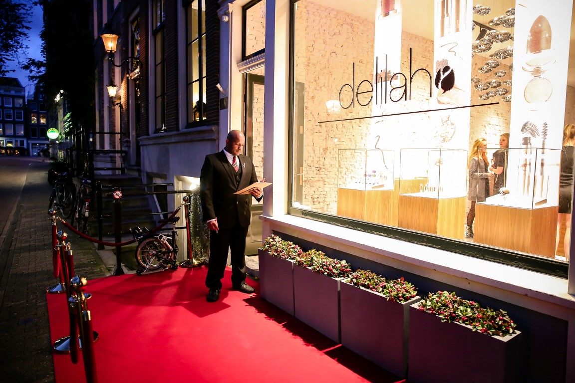 Grand Opening Delilah Cosmetics Amsterdam - Sfeer