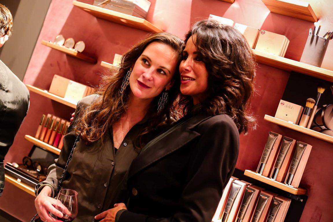 Grand Opening Delilah Cosmetics Amsterdam – Sonia gravin Festetics de Tolna en Manuela Loth