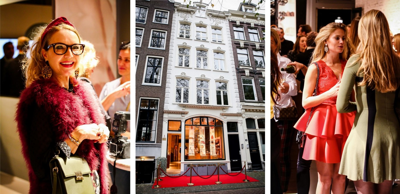 Grand opening Delilah Cosmetics Amsterdam