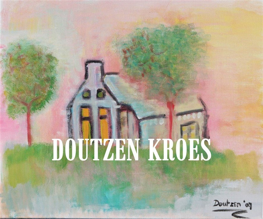 Glamourland schilderij Doutzen Kroes