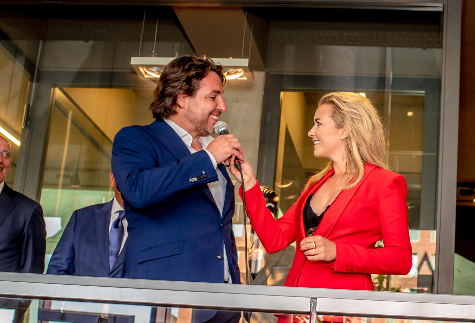 Massimo Mioretti Zakenman van het Jaar - Dutch Global Media - Claudio Papone en Laurien Verstraten
