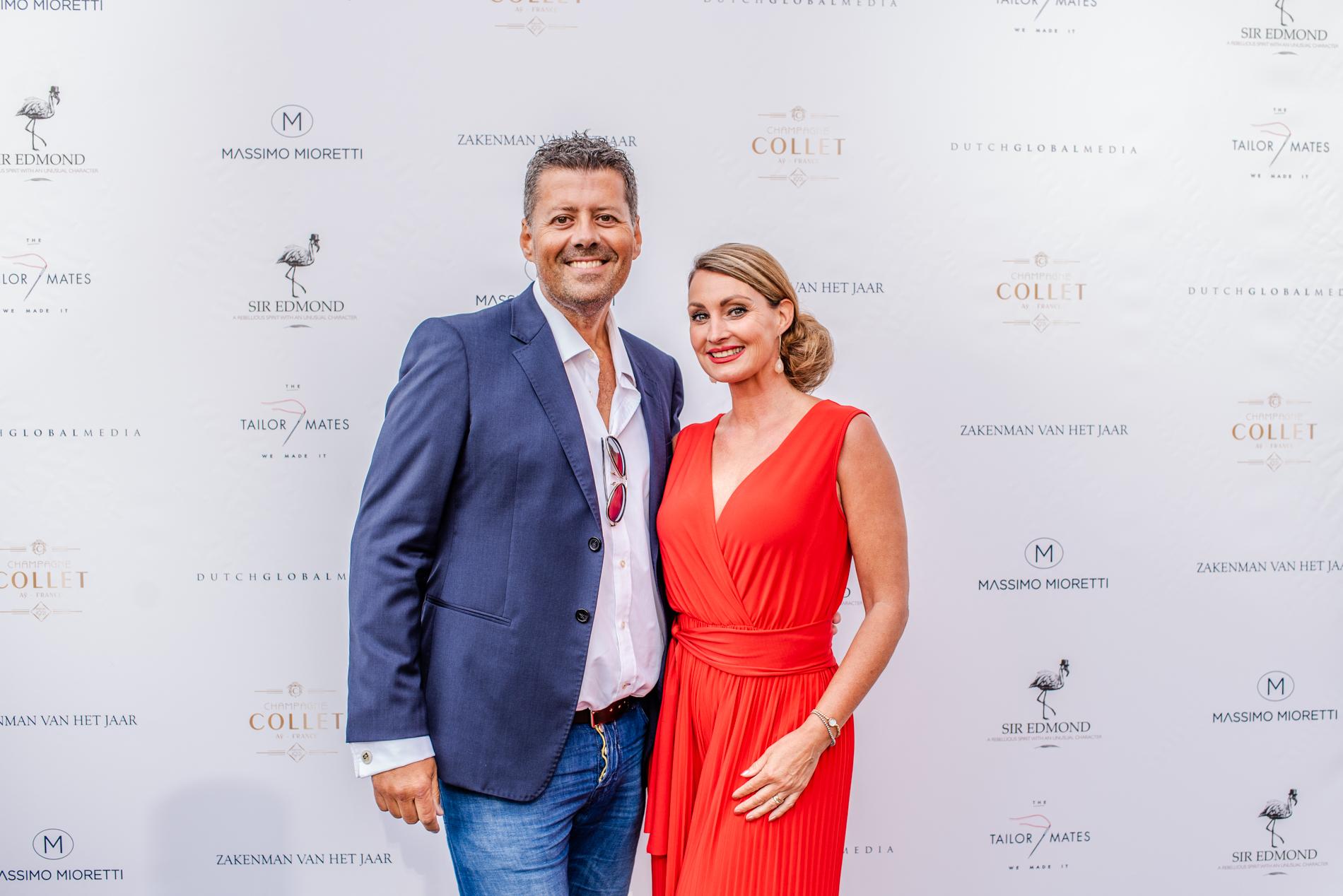 Massimo Mioretti Zakenman van het Jaar – Dutch Global Media – Marc Langeveld en Anne-Marie van Leggelo