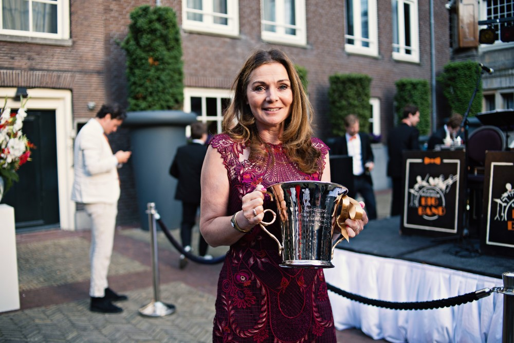 Piper-Heidsieck Leading Ladies Awards -winnares Hanneke Verburg Make-A-Wish - Dutch Global Media
