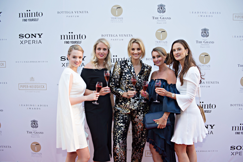 Piper-Heidsieck Leading Ladies Awards Jury - Erieke, Roxanne Pinckers, Lieke, Anne-Marie, Sonia Festetics