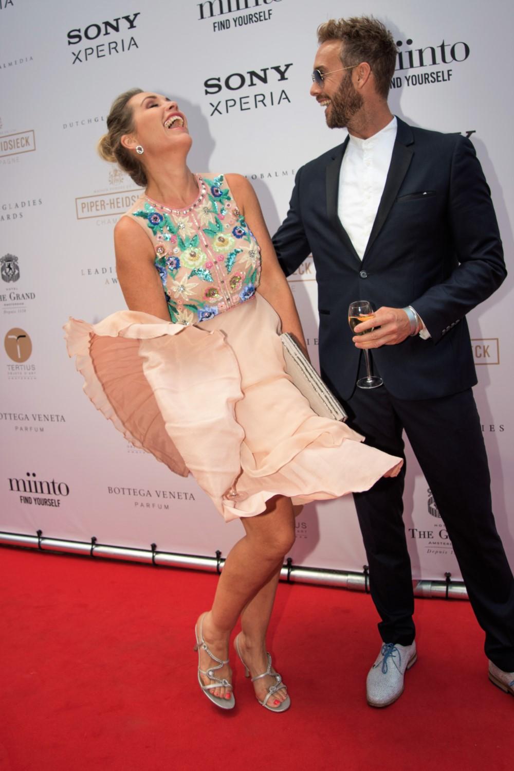 Piper-Heidsieck Leading Ladies Awards – Tanja Jess en Charly Luske – Dutch Global Media