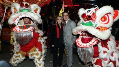 Feestvarkens op de Dam: Chinees Nieuwjaarfeest van Won Yip