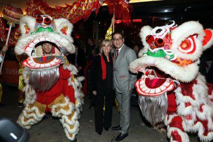 Glamourland - Won Yip en zijn vrouw Heleen Jeremiasse - Chinees Nieuwjaar