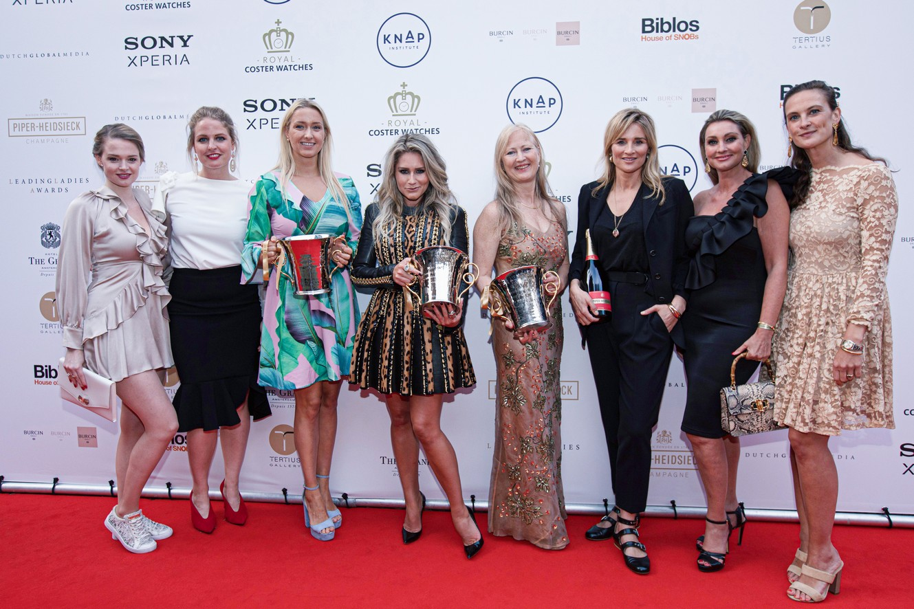 Uitreiking Piper-Heidsieck Leading Ladies Awards 2019