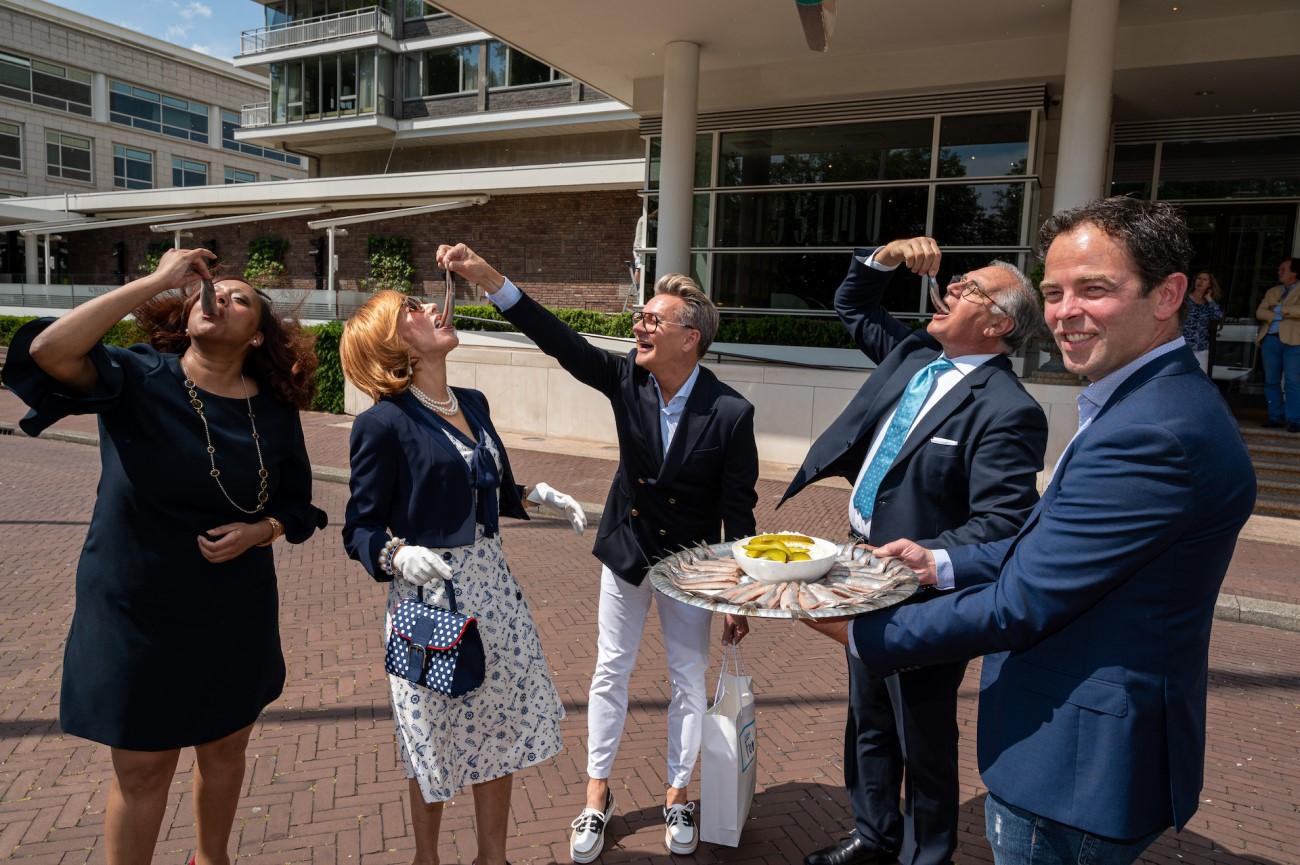 Hilton Haringparty 2020 – Marijke Helwegen, Roberto Payer, Eric van As